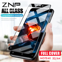 ZNP Full Cover Screen Protective Glass Xiaomi Redmi Note 4 Pro Note 4X Protector Glass Redmi Note 4X Global Version Film