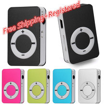HOT SALE~Mini USB MP3 Music Media Player LCD Screen Support 2GB-32GB Micro SD TF Card Free Shipping&Wholesales H0TB(China)