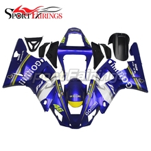 Full Fairings Fit Yamaha R1 Year 2000 2001 00-01 ABS Motorcycle Fairing Kit Bodywork Motorbike Cowling The doctor 46 Go Blue(China)
