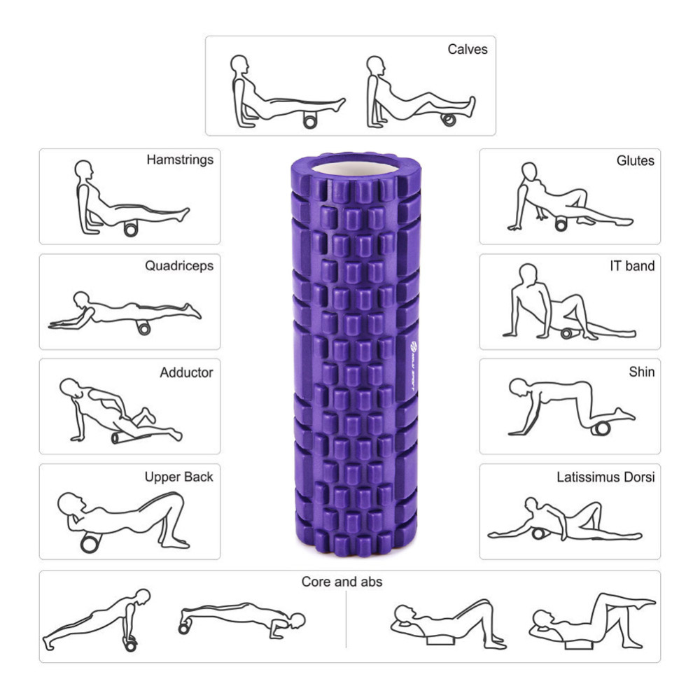TOOLTOO Yoga Eva Foam Roller Fitness Muscle Stimulator Body Relax Muscle Stick Foot Roller Neck 10  TOOLTOO Yoga Eva Foam Roller Fitness Muscle Stimulator Body Relax Muscle Stick Foot Roller Neck HTB140cuogDD8KJjy0Fdq6AjvXXaj
