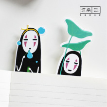 30 Pcs/lot Cute Kawaii No Face Man Photos Paper Gift Stationery Film Bookmarks Book Clip Office Accessories School Supplies(China)