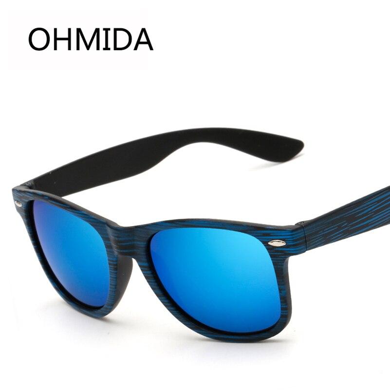 New Fashion Brand Sunglasses Men Women 2017 Pilot Black Wood Grain Eyeglasses Driving Sport Eyewear Mirror Oculos De Sol Gafas <br><br>Aliexpress