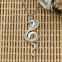 new fashion king cobra snake Pendants round cross chain short long Mens Womens DIY silver necklace Jewelry Gift