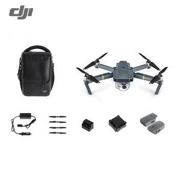 DJI Mavic Pro Fly plus combo (avec Épaule Sac, hélices, Chargeur de voiture et 2 Piles de rechange)