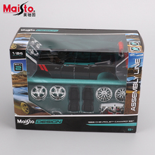 Maisto Ford 1965 Shelby Cobra 427 Classic car 1:24 Model Alloy Metal DIY Toy Vehicles Vintage car Collection Toys Kids Gifts