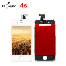 Alibaba China Touch Screen LCD Display  For iPhone 4s a3 Display LCD Replacement Screen Digitizer No Dead Pixel Fly Screen Parts