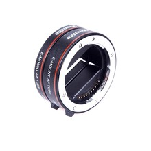 Metal Auto Focus Macro Extension Tube Lens Adapter for Sony E Mount Camera A7 II A7R A7S A7SII A7RII NEX-7 A5000 A6000 A6300