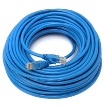 20M Blue Cat 5 65FT RJ45 Ethernet Cable for Cat5e Cat5 RJ 45 Internet Network Patch LAN Cable Connector For Router DSL Modem(China)