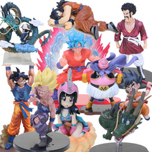 Anime Dragon Ball Z figure Dead Yamcha hercule Buu different goku selectable PVC Figure Collectible Model Toys(China)