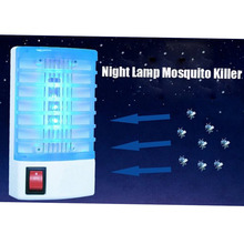 New Arrival Mini LED Socket Electric Anti Drive Mosquito Flies Killer Repeller Insect Pest Mouse Magnetic 220V Energy saving(China)