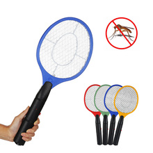 4 Colors Handheld Mosquito Killer Fly Swatter Electric Home Garden Pest Control Insect Bug Bat Mosquito Repellent for Camping