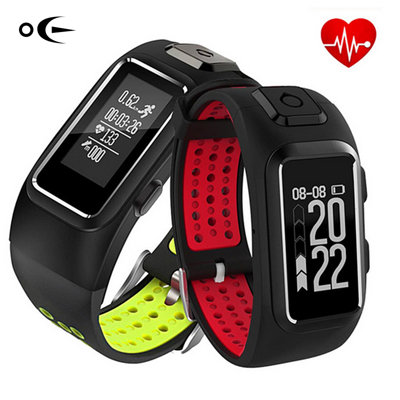 MS01 GPS IP68Sports Heart Rate Monitor Intelligent Real Time Support Band Activity Activity Fitness Sleep tracker to iOS Android<br>