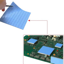 100Pcs10mm*10mm*1mm 100 Thermal Pad GPU CPU Heatsink Cooling Conductive Silicone Pad