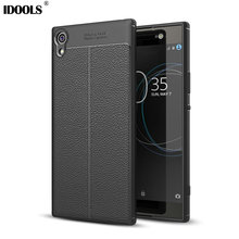 IDOOLS Soft Case For Sony Xperia XA1 Ultra PU Leather Quality Picks Slim Coque Mobile Phone Bags Cases For Sony Xperia XA1 Ultra(China)