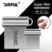 Super mini 4gb 8gb 16gb 32gb 64gb 128gb pendrive metal usb flash drives usb stick high speed pen drive(China)