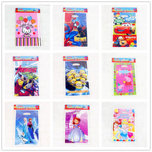 10pcs/a lot Children Birthday Party Loot Gift Bag Princess Spiderman The Avengers Cartoon Party Supllies
