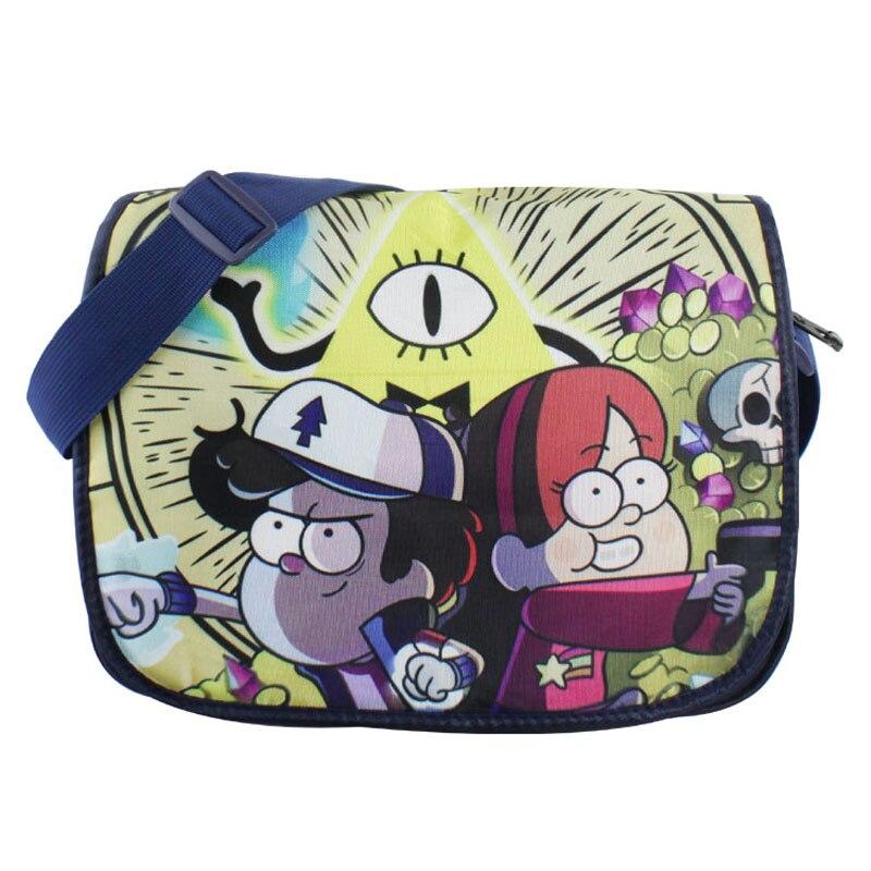 Colorful Polyester Shoulder Bag/Messenger Bag/School Bag of Anime Gravity Falls<br><br>Aliexpress