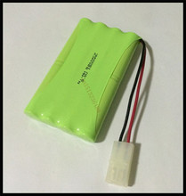 1 PCS/lot KX Original New Ni-MH 9.6V 1800mAh Ni-MH AA Rechargeable Battery Pack With Plugs Free Shipping(China)
