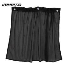 Vehemo 1Pair Auto Car UV Protection Window Curtain Sun Shade Block Suction Cup(China)