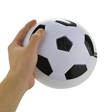 Colorful LED Light Electric Suspended Football Game Lighting Air Cushion Football Sports Indoor Football Field Gift Toys 889353(China)
