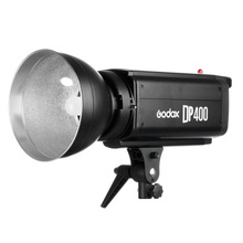 Free DHL 110V 220V 400W Studio Strobe Flash Light Godox DP400 400Ws GN65 Pro Photography Lighting Flashlight