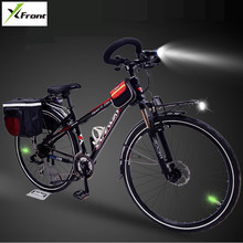 New X-Front Aluminum Alloy Frame Touring Bicycle Outdoor Sport 700CC Wheel Butterfly Bar Dual Disc Brake Bicicleta bike(China)