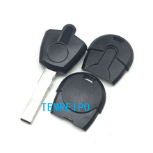 30pcs/lot Replacement Car Key Blank Case For Fiat Positron EX300 Transponder Key Shell No Chip Fob(China)