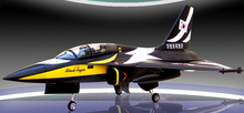 Koera T50 rc jet  airplane kIt wth retractable landing gear and retractable canopy ARF