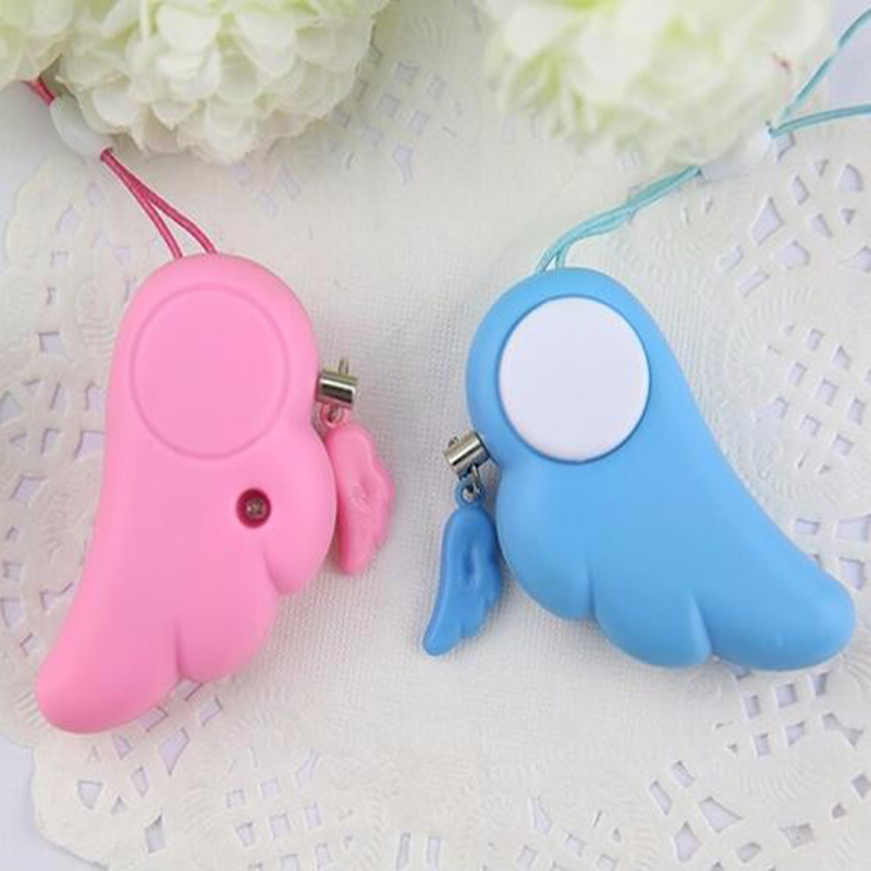 Alarm System For Personal Angel Wing Mini Pepper Alarm Security protection Mini Key chain Personal Defense Alarm Emergency<br><br>Aliexpress