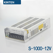S-1000-12 series switching power supply monitoring power LED power transformer power 1000W12V83A(China)