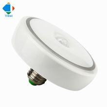 e27 led lamp with the motion sensor 9W 12W 15W 18W high power super bright Ac 86 to 265 volt ceiling light bulb for home(China)
