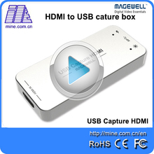 Magewell USB3.0 HDMI capture box compatible with Windows, Linux OS UVC video capture