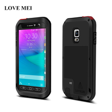 LOVE MEI Waterproof Shockproof Cover For Galaxy Note Edge N9150 N915 Powerful Aluminum Metal Case For Galaxy Note Edge Shell(China)