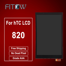 Fitow Brand 100% Guarantee For HTC Desire 820 LCD Display+Touch Screen Digitizer Assembly Free Shipping(China)