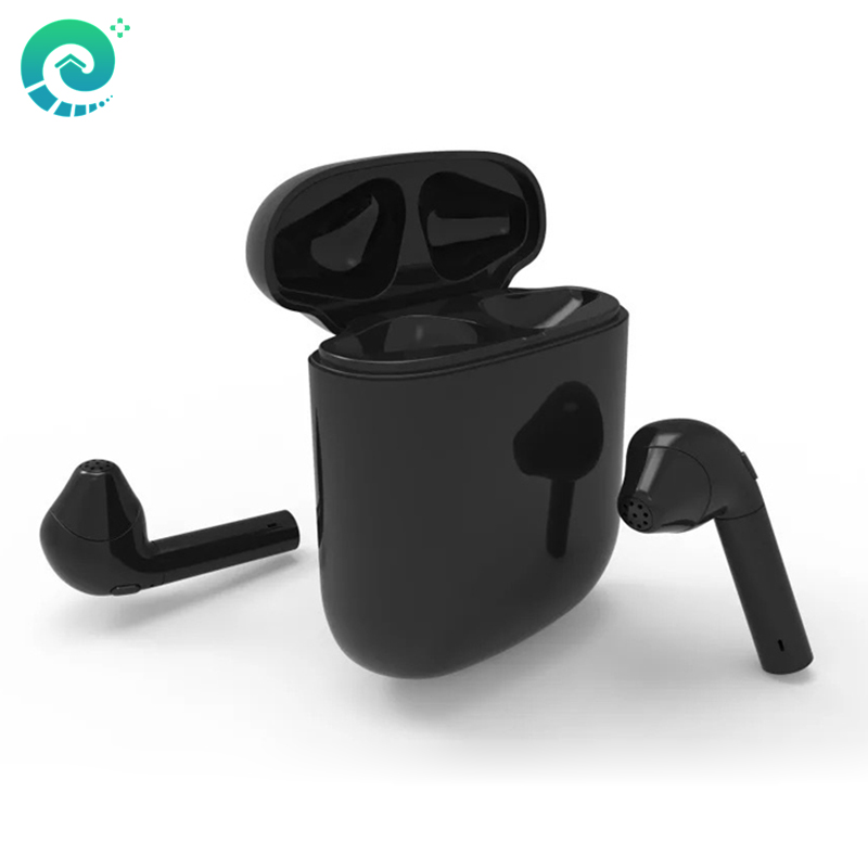 HBQ i8 Wireless Bluetooth Earphone Binaural Stereo Sound Noise Cancellation Headset For Mobile Phone iphone7/8/X Android Phones<br>