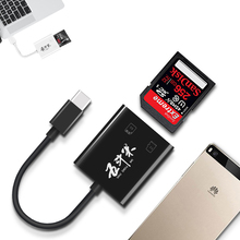 USB OTG Card Reader Micro USB OTG TF/SD Card Reader Camera Phone Extension Header iFlash Drive Adapter For Smartphone Macbook(China)