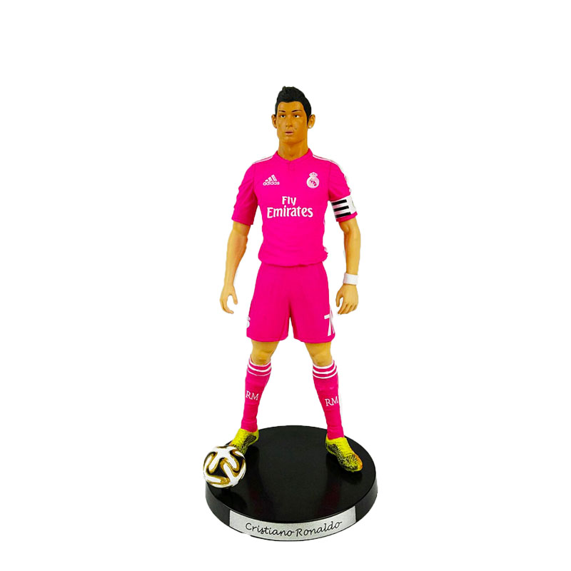 18cmKODOTO soccerwe STAR DOLL RESIN RM 7 C.Ronaldo White Office Figure Colletions<br><br>Aliexpress