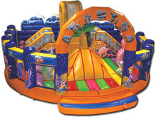 (China Guangzhou) manufacturers selling inflatable slides, inflatable castles,nflatable bouncer COB-83(China)