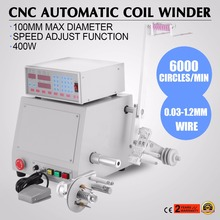 Computer CNC Automatic Coil Winder Winding Machine For 0.03-1.2Mm Wire 400W