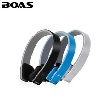 BOAS Wireless bluetooth 4.1 headphones stereo handsfree sport running headset earphones with MIC for iPhone xiaomi ipad PC girls(China)