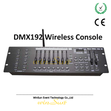 DMX512 Console 1990 Standard DMX Controller 2.4G Wireless Support Remote Control Stage Light Equipment