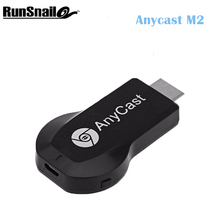 TV Stick For Android TV Dongle Anycast M2 Wireless Receiver DLNA Airplay Miracast Airmirroring Chromecast MiraScreen(China)