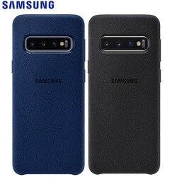 Чехол из натуральной замши для Samsung Galaxy S10
