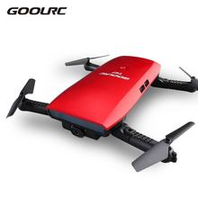 GoolRC T47 6-Axis Gyro WIFI FPV 720P HD Camera Drone Quadcopter Foldable Mini G-sensor RC Selfie Drone RTF Quad Toys New(China)