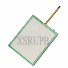 "5pcs/Lot 4 Wire Resistive Industry Touch Screen Panel Digitizer Glass 5.7"" inch 132*105mm for Launch X431 Master LCD"
