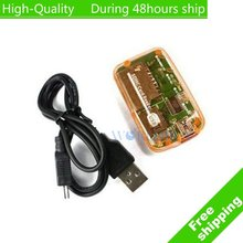 High Quality SD MS USB COMPACT FLASH TYPE I II MEMORY ALL IN 1 Multi in 1 CARD READER