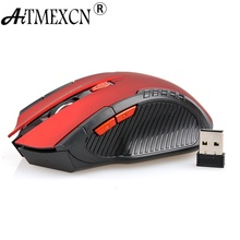 2.4GHz USB 2.0 Wireless Mouse Mice Optical Gaming 2400 DPI Computer 6D Game Mouse for Desktop Laptop PC Pro Gamer