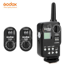 Godox FT-16 Wireless Power Controller Remote Flash Trigger + 2x FTR-16 Receiver for Godox Witstro AD180 AD360 Speedlite Flash