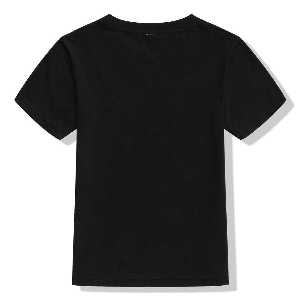 3-10Y Kids Black Star Lab Letter Print Short Sleeve T Shirt Boys Novelty T-shirt Girls Tshirt Clothes Anime Comics The Flash 5