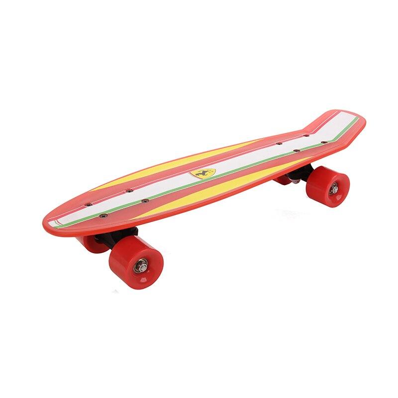 Fish Skateboard Skateboarding Four-wheel Street Banana Long Mini Cruiser Fish Skate Board for Children (5)